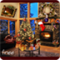 Christmas Fireplace LWP thumbnail