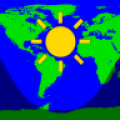 Daylight World Map thumbnail