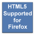 HTML5 Supported for Firefox thumbnail
