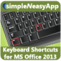 Keyboard Shortcuts for MS Office 2013 thumbnail