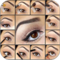 Make up your eyes step by step thumbnail