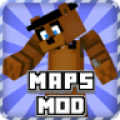 Maps Mod Fnaf for Minecraft thumbnail