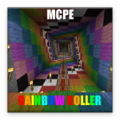 Rainbow Roller map for MCPE thumbnail