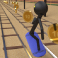 Stickman Subway Surfers 3D thumbnail
