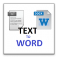 Txt to word thumbnail
