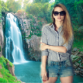 Waterfall Photo Background thumbnail