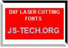 DXF LASER CUTTING FONTS thumbnail