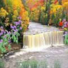 Autumn Waterfall thumbnail