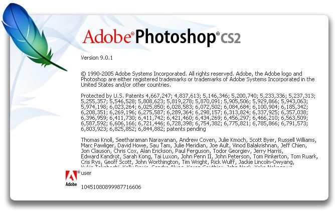 CS2 9.0.1 TÉLÉCHARGER GRATUIT PHOTOSHOP ADOBE