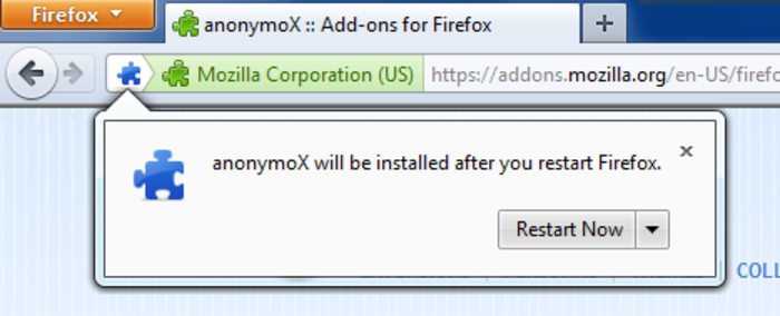 anonymox pour android