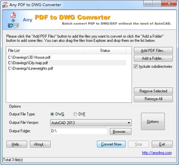 Pdf to cad, pdf to autocad.