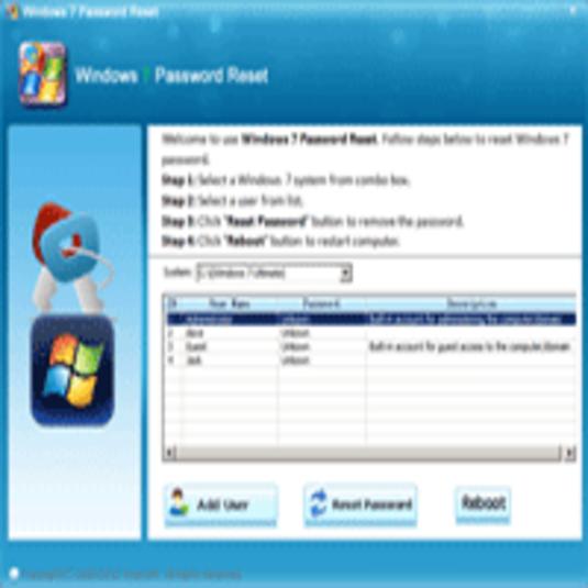 asunsoft windows 7 password reset full version free download