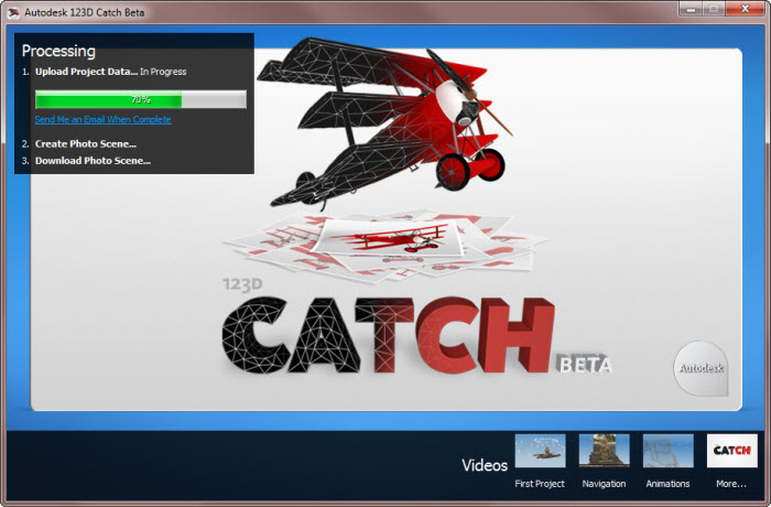 Autodesk 123D Catch - Free Download
