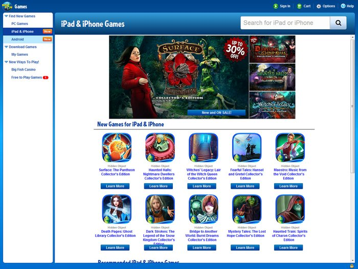 Big Fish Game Manager - Free Download