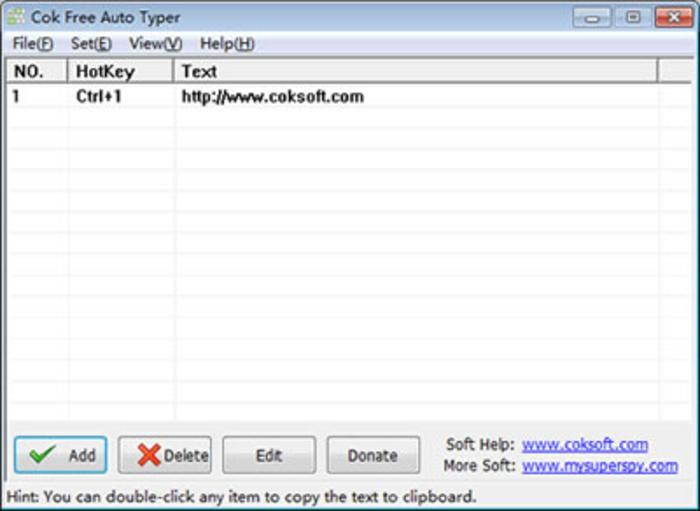 Cok Free Auto Typer - Free Download