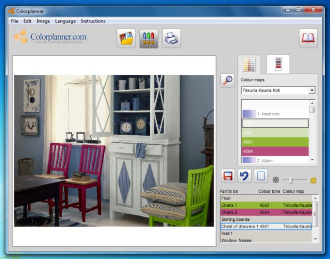 Color Planner Free Download