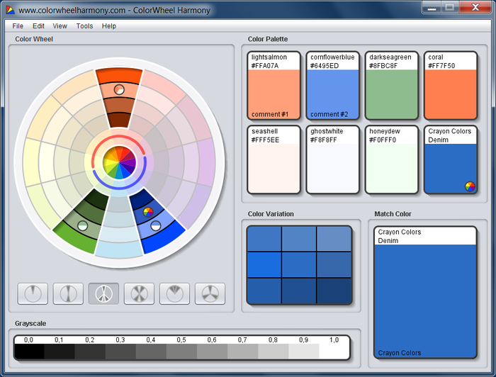 Colorwheel Harmony Free Download