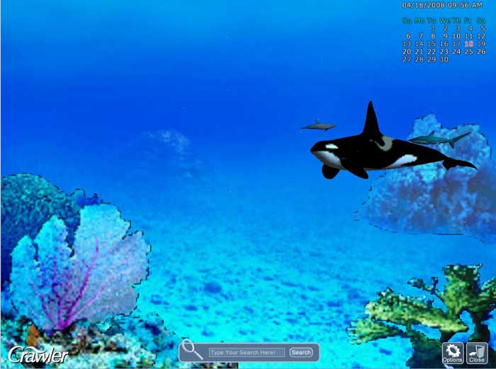 Crawler 3d Marine Aquarium Screensaver Free Download