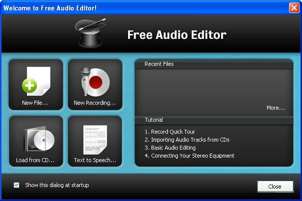 Free Audio Editor Free Download