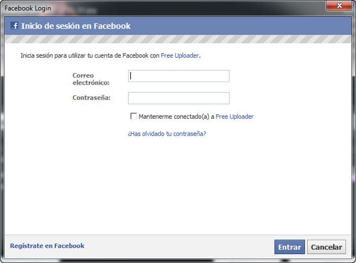 Free Uploader for Facebook - Free Download