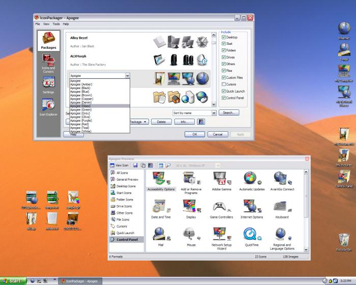 iconpackager mac os x icons download