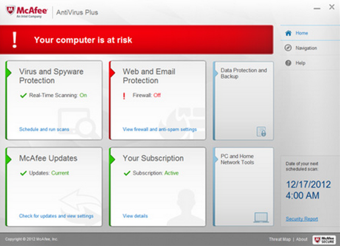 Mcafee total protection 2014 free download full version with crack.
