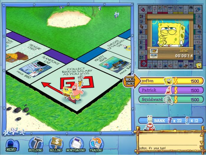 SpongeBob SquarePants Monopoly - Free Download