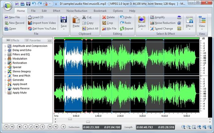 Mp3 Audio Editor - Free Download