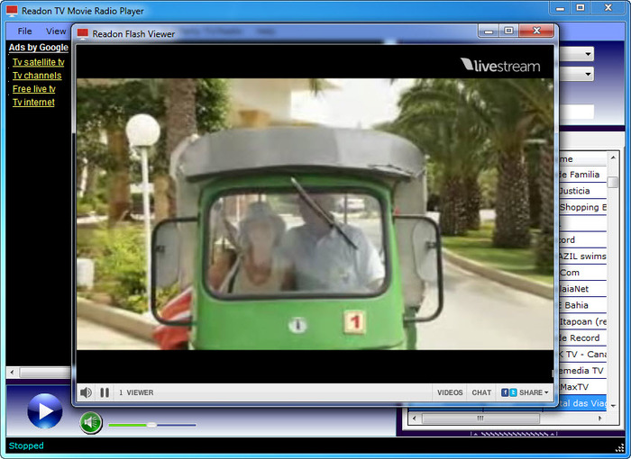readon tv movie radio player download free windows 7