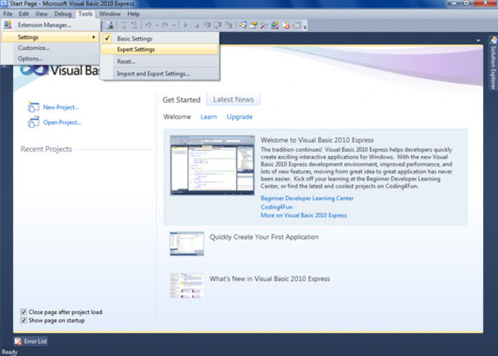 Download and install microsoft visual studio 2013 express hd.