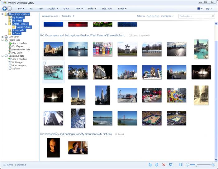 windows live photo gallery software free download