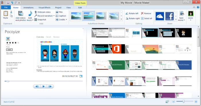 windows live movie maker windows 8 free download full version