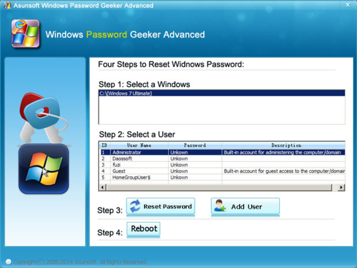 free download windows password recovery tool professional full version