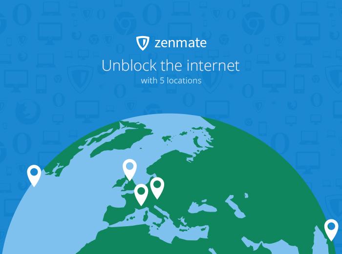 ZenMate VPN for Firefox - Free Download