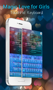 TouchPal SkinPack Magic Love for Boy (APK) - Free Download