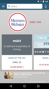 Merriam-Webster Dictionary (APK) - Free Download