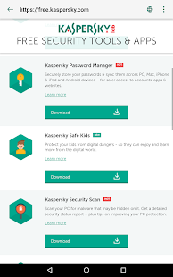 Kaspersky QR Scanner 1.0 - Power to protect from rogue QR