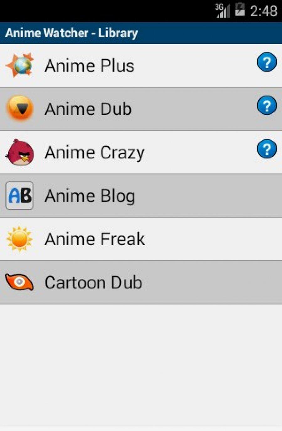 Anime watcher apk free download