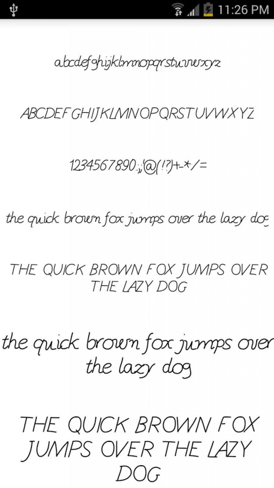 Download Free Fonts Pack 15 (APK) - Free Download